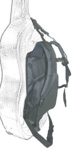 Musilia Adjustable Back Pack Kit w/Hip Belt